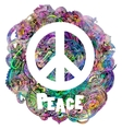 Hippie style Ornamental vector image