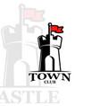 logo castle vector image vector image