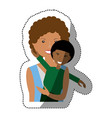 people together family image vector image vector image