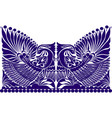 russian ornament folklore ornament wit vector image vector image