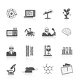 Science And Research Icon Set vector image vector image