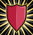 shield1 vector image vector image