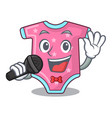 singing cartoon baby clothes for the newborn vector image vector image