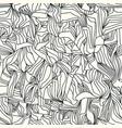 trendy seamless pattern molecule vector image vector image