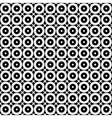 Abstract minimalistic pattern rounds vector image
