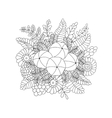 Amla isolated doodle image vector image vector image