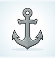 anchor icon design clipart vector image vector image