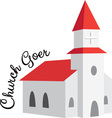 Church Goer vector image vector image