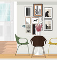 ideas about dining room vector image vector image