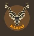 KUDU logo vector image vector image