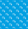 memory card pattern seamless blue vector image vector image