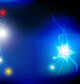 starlight abstract background vector image vector image