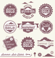 Summer Sale Labels vector image vector image