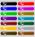 volume sound icon sign Big set of 16 colorful vector image vector image