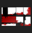 bright grungy backgrounds vector image
