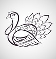 Turkey logo vector image