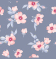 dog-rose blooms wild rose seamless pattern vector image vector image