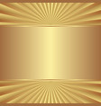 golden background with copy space vector image vector image