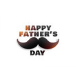 happy fathers day graphic background vector image vector image