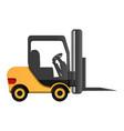 lift machine icon cartoon style vector image