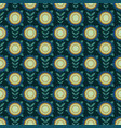 simple flower pattern vector image