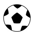 soccer ball isolated icon vector image