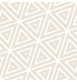 stylish minimalistic triangle shape lines grid vector image vector image
