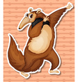 Anteater vector image vector image