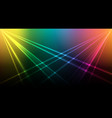 bright laser background vector image
