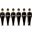 Ceremonial shape of the Admiralty Battalion vector image vector image