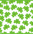 clover emoticons or emoji characters for st vector image