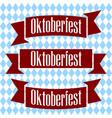emblem oktoberfest beer festival 2017 oktoberfest vector image vector image
