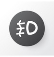 foglight icon symbol premium quality isolated vector image vector image
