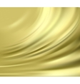 Gold silk backgrounds vector image vector image