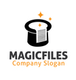 Magic Files Design vector image vector image
