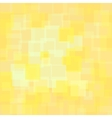 Abstract Yellow Squares Background vector image
