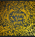new 2019 year with ornamental style vector image vector image