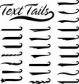 Text tails solid vector | Price: 1 Credit (USD $1)