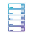 tower server isometric icon vector image