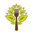 vegan food icon stock vector image