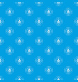 writing ink pattern seamless blue vector image vector image
