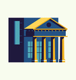 Banking Office vector image