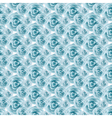 Blue Rose pattern background vector image vector image