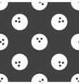 Bowling ball pattern vector image vector image