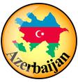 button Azerbaijan vector image vector image