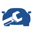 Car repairs vector image