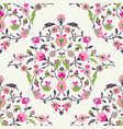 classic ottoman turkish style floral pattern vector image