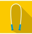 Jump rope icon flat style vector image vector image