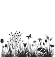 Meadow vector image