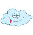 Pleased blue cloud